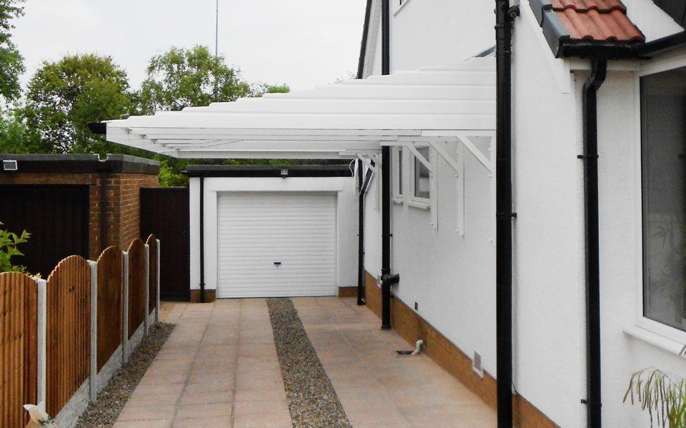 Carports And Cantilever Car Shelters Canopies Uk