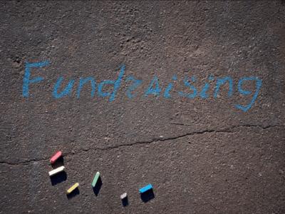 Fundraising Chalk