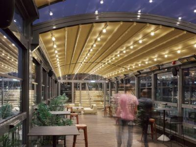 covered walkways and canopies