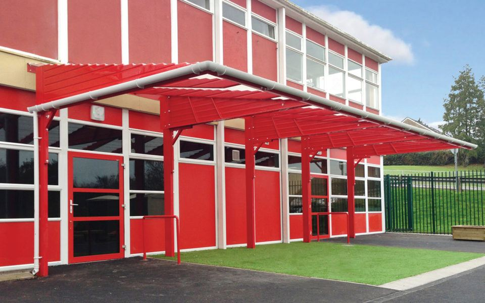 Education Entrance Canopy