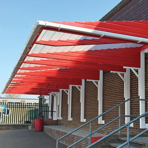walkway covers for schools