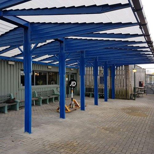 walkway canopies