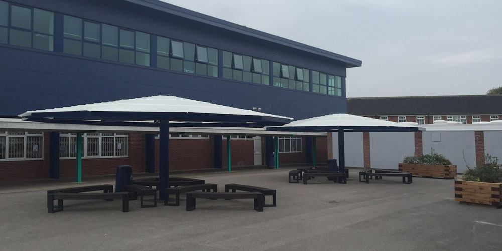 school umbrella canopies