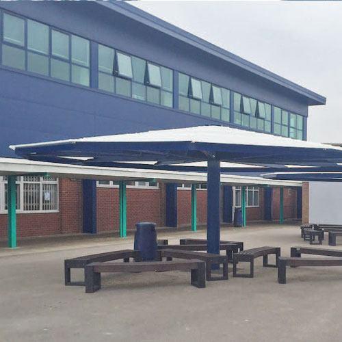 school umbrella canopies