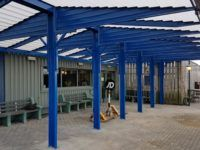 smoking shelter canopies