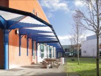covered walkway canopy