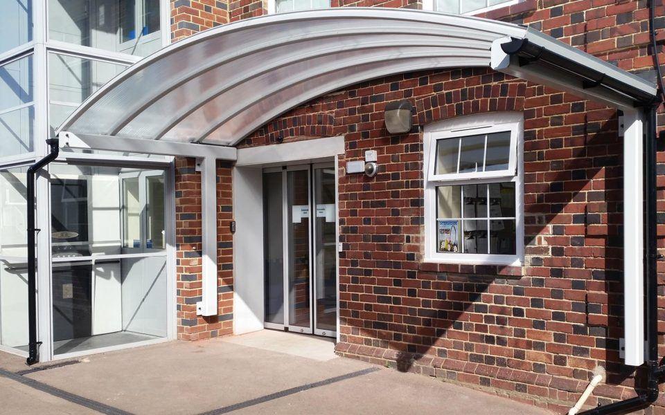 fiberglass door canopy