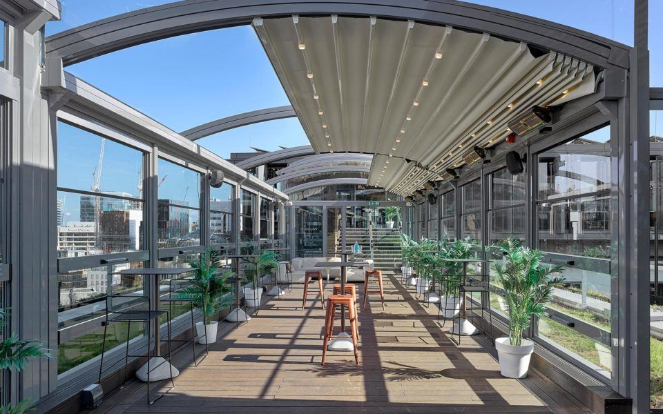 outdoor eating canopy