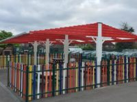 outdoor learning canopies