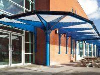 walkway covers for schools
