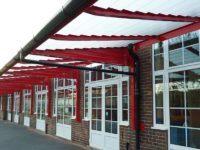 covered walkways for schools
