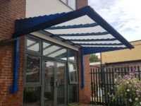entrance door canopy