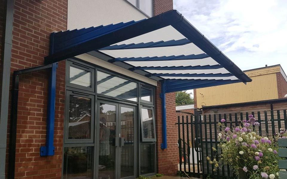 entrance door canopy