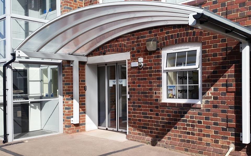 entrance door canopies
