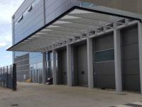 industrial loading bay canopy
