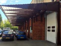 loading bay canopies