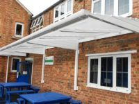 smoking shelter canopy