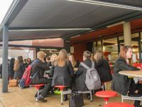outdoor dining for schools