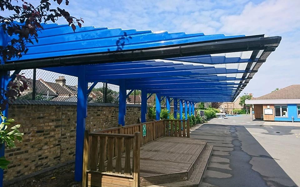 playground canopies shelters