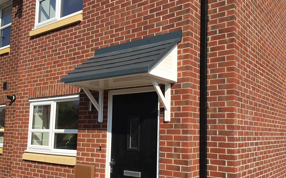 front door canopies