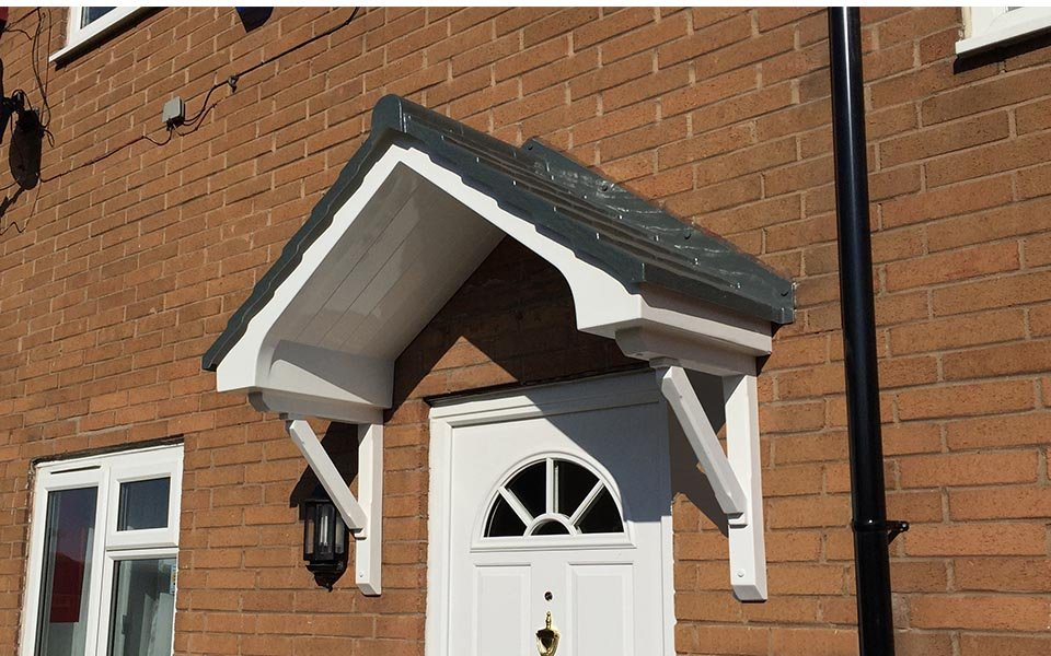 over front door canopy
