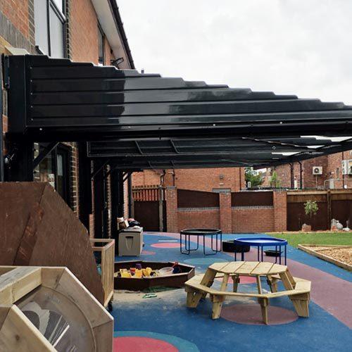 canopies for nurseries uk