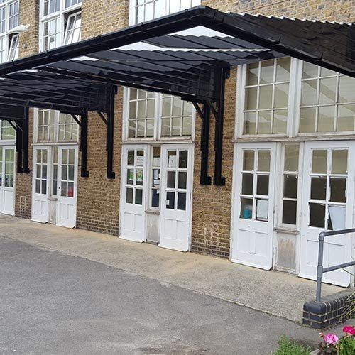 School Entrance Canopy