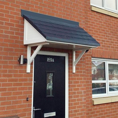house front door canopies