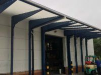 warehouse loading bay canopies