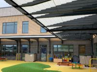 Wall Mounted Outside Learning Canopy