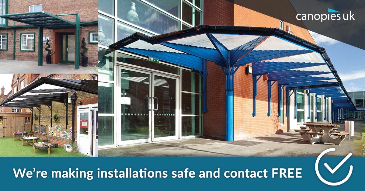 Canopies-Commercial-contactless-installation
