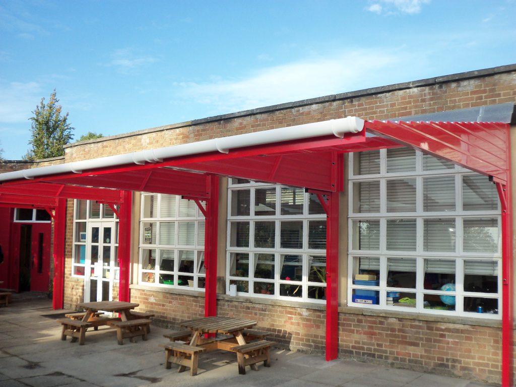 outdoor-benches-school