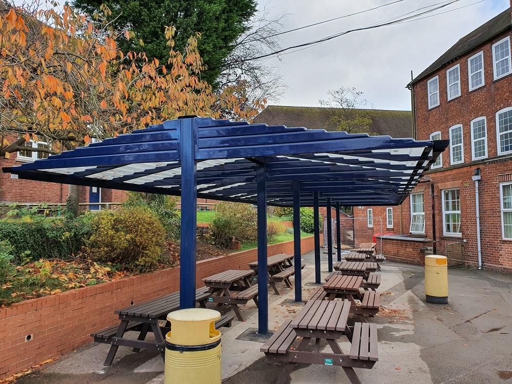 King Edward VI School Lichfield (WS14) 2 - Connekt - Back to Back - Blue