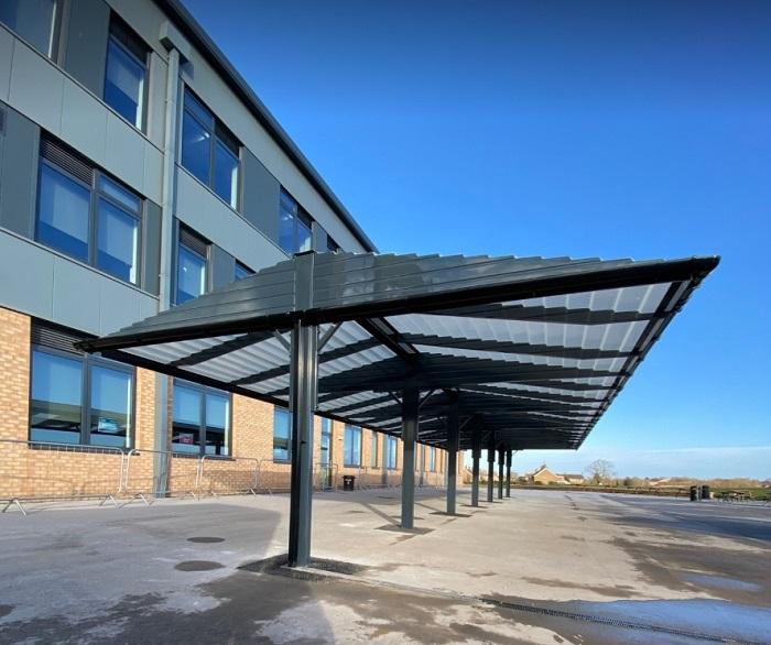 Wolfeton School (Glen Wilson Ltd) 1 - Connekt - Back to Back - Grey